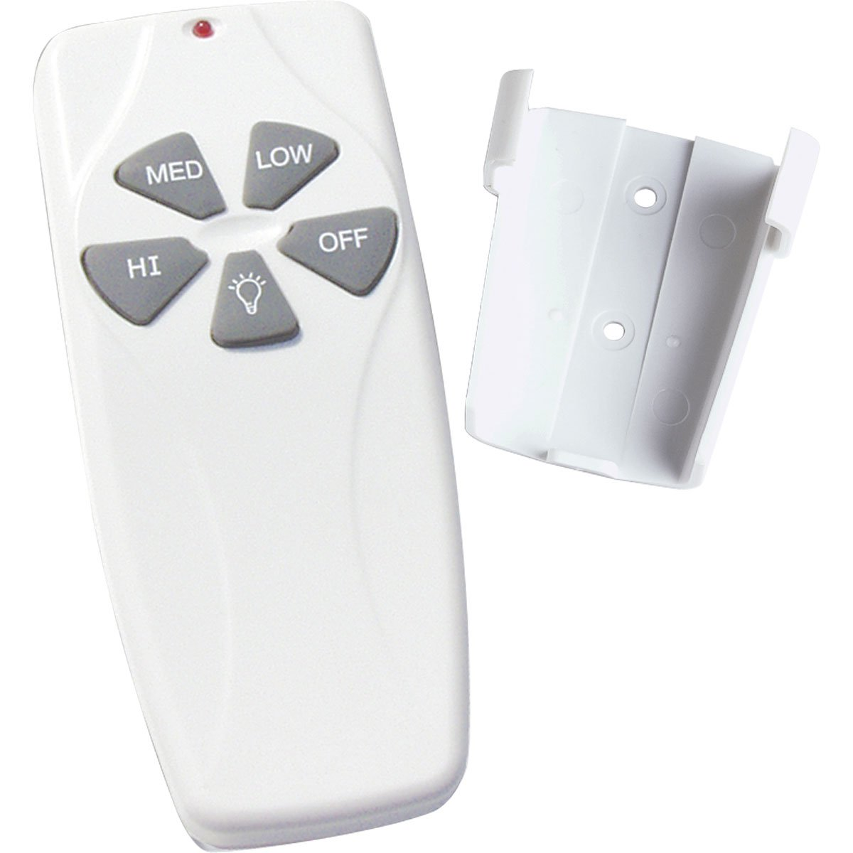 Progress lighting p2614 01 fan and light hand held remote for fan progress lighting p2614 01 fan and light hand held remote for fan speed and dimming light control white ceiling fan remote controls amazon aloadofball Choice Image