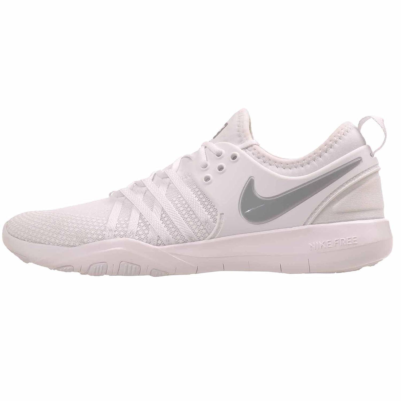 NIKE Free Tr 7 Womens Cross Training Shoes B01MCR6RTX 7.5 B(M) US|White