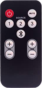 Replacement Remote Control for Polk Audio surroundbar Soundbar RE15031 RE1305-2 RE1305-1 5000 3000 6500BT 6500 6000 4000 ONE Step IHT3000