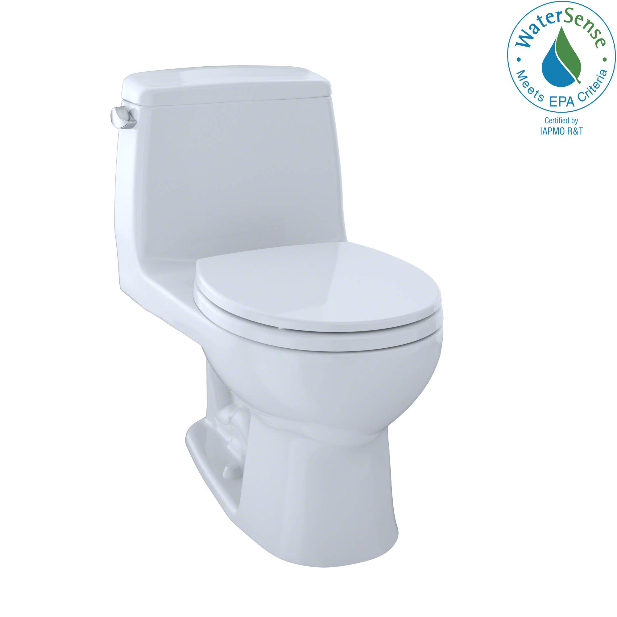 TOTO MS853113E#01 Eco Ultramax Round Front One Piece Toilet, Cotton White by TOTO