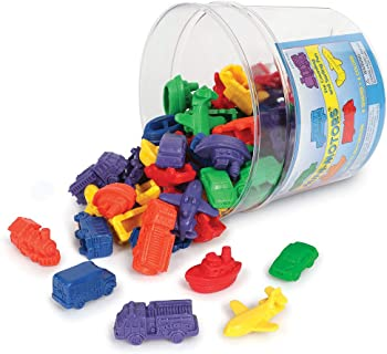 Learning Resources Mini Motors Counting and Sorting Fun Set