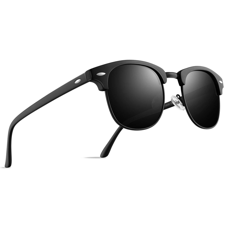 Polarized Mens Sunglasses for Men - FEIDU Polarized Sunglasses Mens Sunglasses FD 3030 (ALL/BLACK, 2.08) by FEIDU