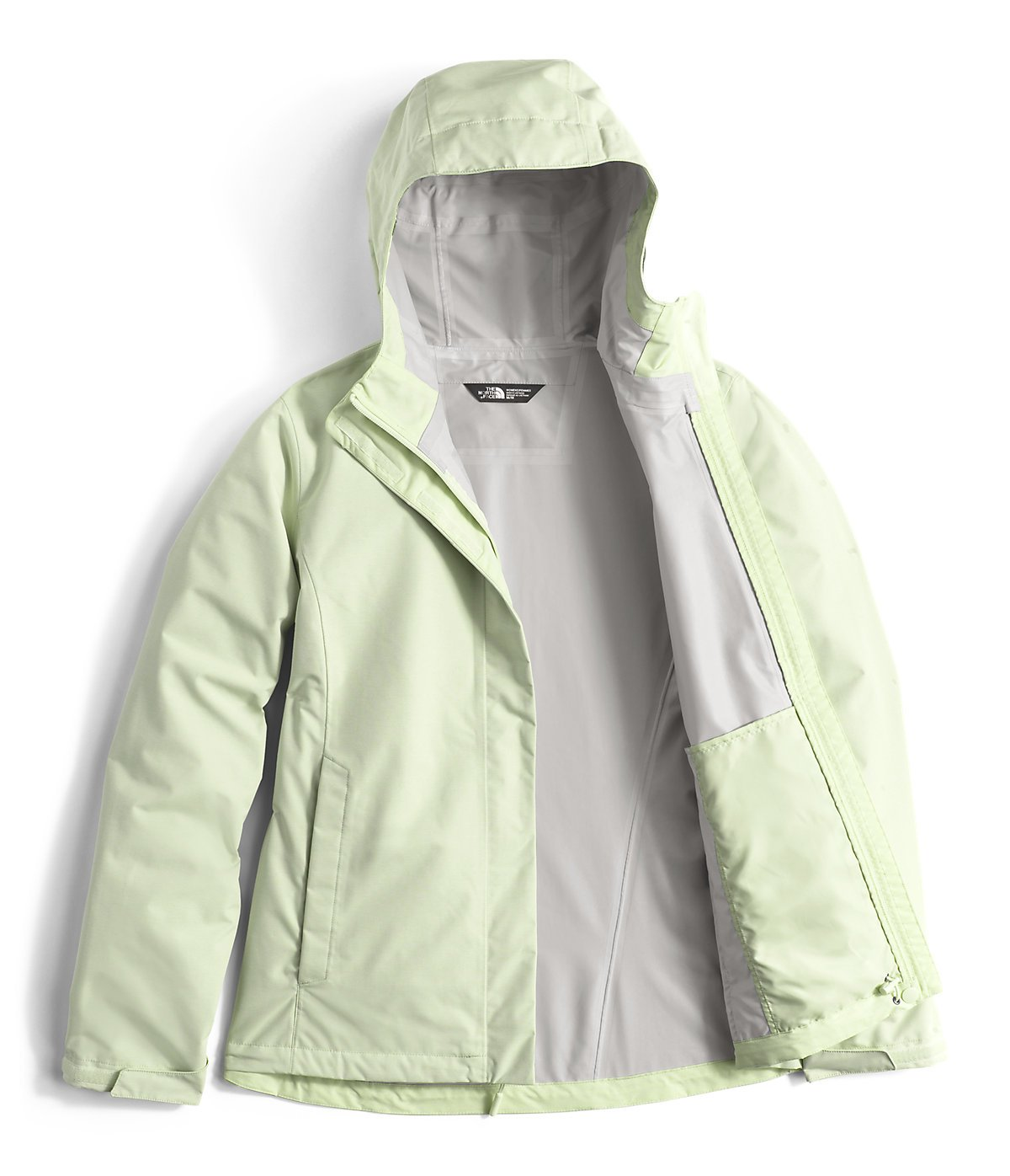The North Face Women's Venture 2 Jacket Ambrosia Green Heather L by The North Face (Image #2)