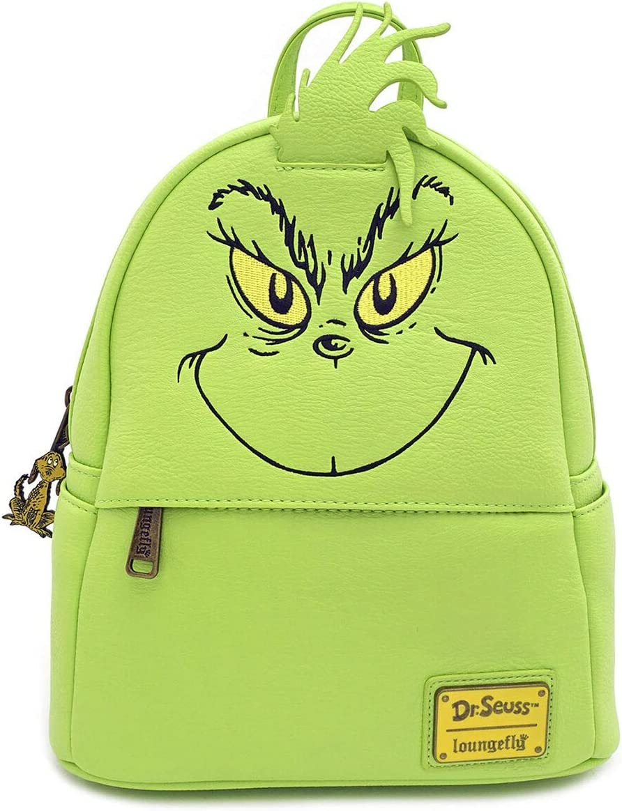 Loungefly The Grinch Faux Leather Mini Backpack Standard