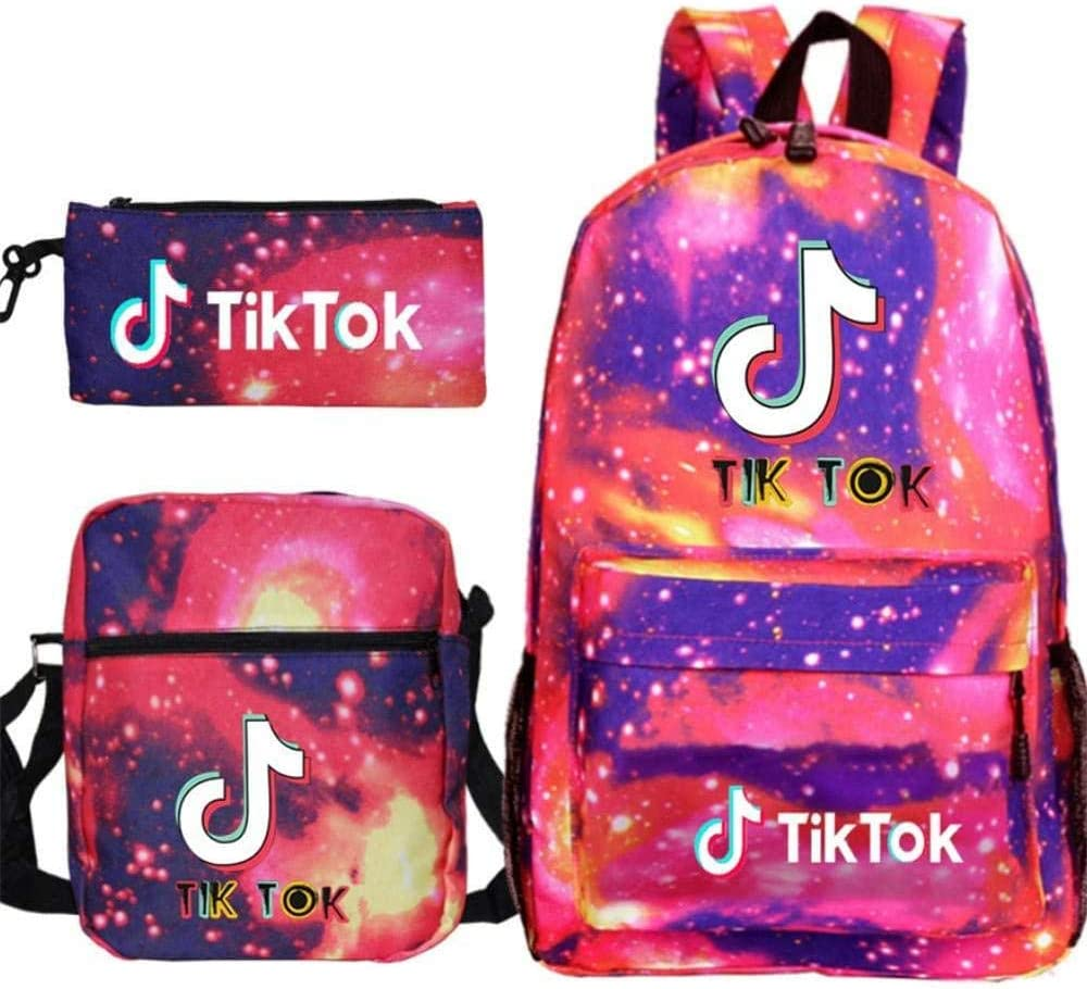 TIK Tok Casual Daypack,Padded Laptop Compartment,Shoulder Bag,Anti-Theft,35l,6