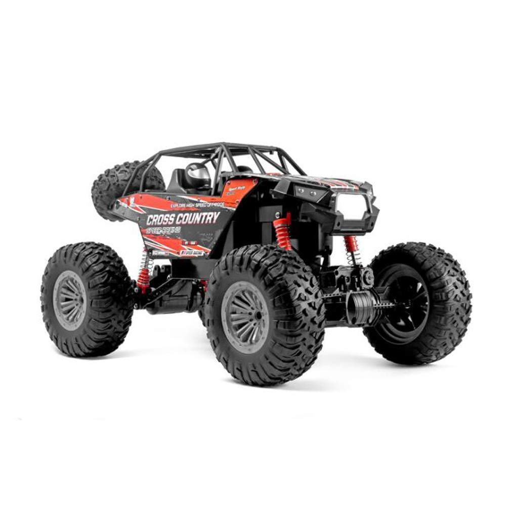 Tagke 1:8 Large 4WD Off-Road Vehicle 2.4GHz Remote Control Car Independent Shock Absorber TPR Tire Powerful Horsepower Climbing Car Conquer Various Terrain Output Powerful Power RC Car