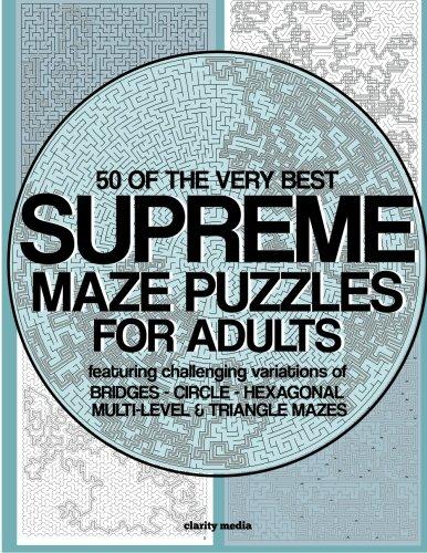 Supreme Maze Puzzles
