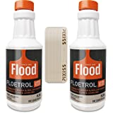 Floetrol Paint Additive Pouring Medium for Acrylic Paint - Flood Flotrol Additive & Paint Extender (2-Pack), 20 Pixiss Wood M