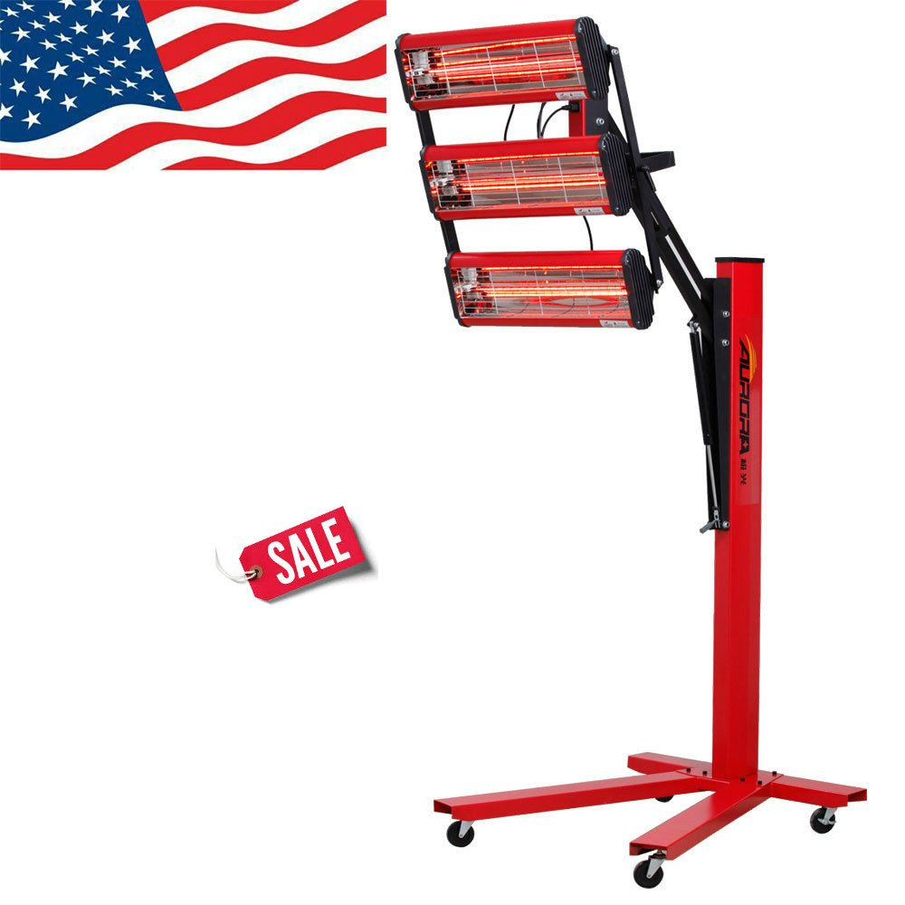 Skroutz Deals Baking Infrared Paint Curing Lamp A++ Heater Heating Light 603R Lamp Body by Skroutz Deals