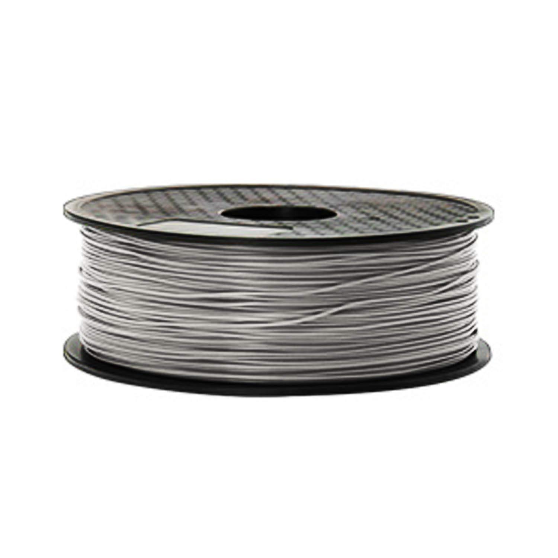 HONGMANLIANCHUANG 3D Printer Filament PLA 1.75mm 1kg 3D PRINT FDM Gray