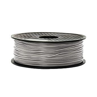 HONGMANLIANCHUANG Filamento de la impresora 3D PLA 1.75mm 1kg 3D IMPRESI/ÓN FDM Blanco