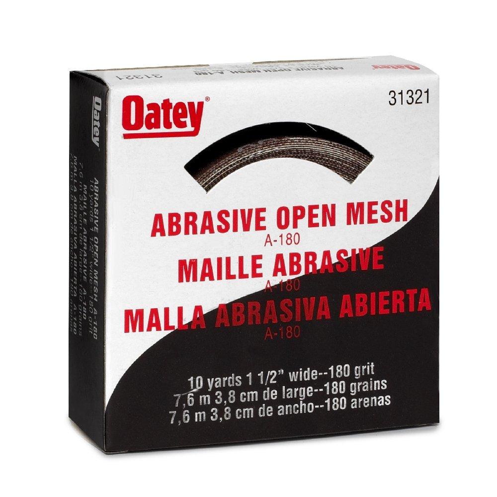 Oatey 31321 180 Grit Open Mesh, 1.5'' x 10 yd. by Oatey