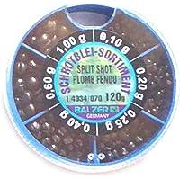 2,92€//100g KLEMMBLEI 120g BLEISCHROT SORTIMENT SCHROTBLEI-SPENDER SOFT BLEI