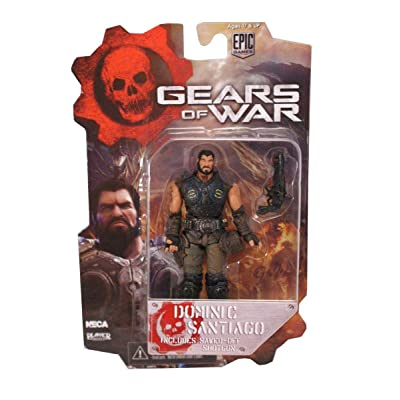 Gears Of Wars 52231 3.75-Inch Series 2 Dom Figure: Toys & Games