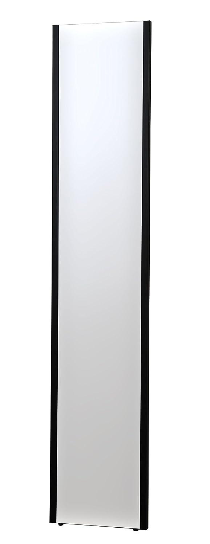 NRM-3 太枠 B色 日本製 割れない フィルム 軽量 ミラー 鏡 ミラー 姿見 全身 鏡 サイズ: 幅30cm 奥行2cm 高さ150cm 重量 約 1.8kg ( 割れない 安全ミラー フィルム 軽量 ミラー 地震対策 鏡 全身 コーデイネート の チェック ヨガ や ダンス の レッスン 用 壁掛け 鏡 全身鏡 全身ミラー 等身大 鏡 等身大 ミラー 等身大 全身 姿見 カガミ かがみ ウォールミラー 壁掛立て 壁掛ミラー ) ( ブラック 色) B01IB90FKQ B ブラック 色 B ブラック 色