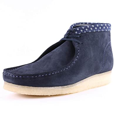 Clarks Originals Wallabee Boot Herren, Stiefeletten, Blau