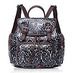 APHISON Women Backpack Purse Leather Embossing Ladies Rucksack Shoulder Bag 83033