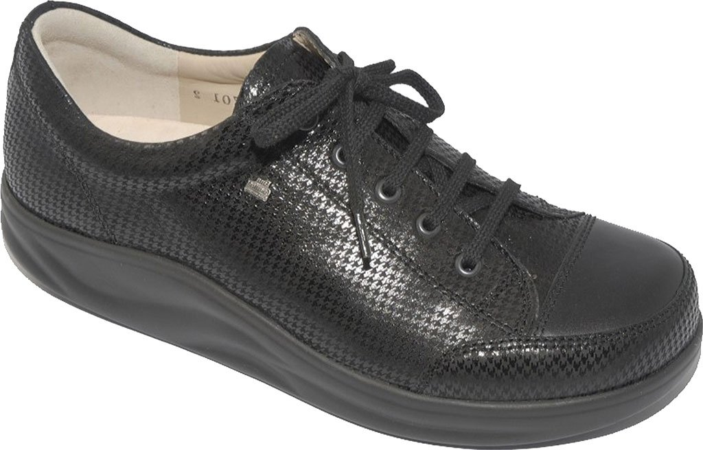 Finn Comfort Women's Ikebukuro Oxford B00IXWCZLY 6 (UK Women's 3.5) Medium|Black Hardy, Nappa