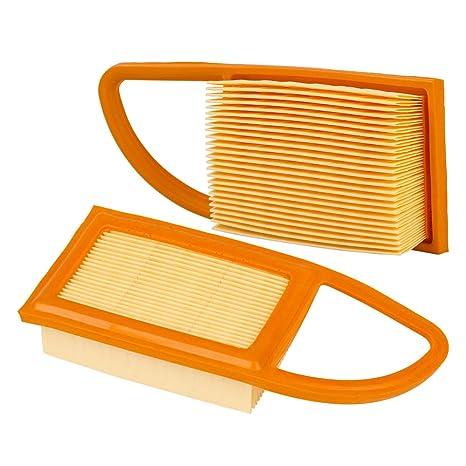 Ajuste de filtro de aire OuyFilters para Stihl BR500 BR550 ...