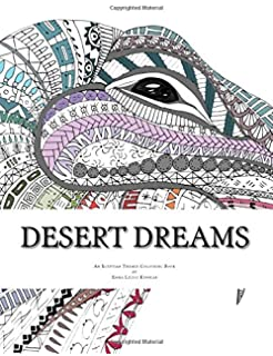 Desert Dreams An Egyptian Themed Colouring Book For Adults