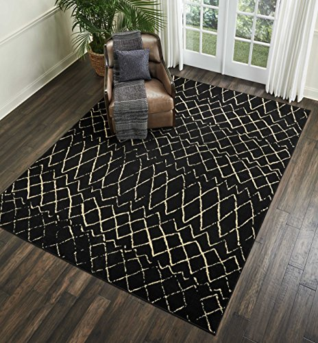 Nourison Grafix Modern Contemporary Area Rug, 7'10