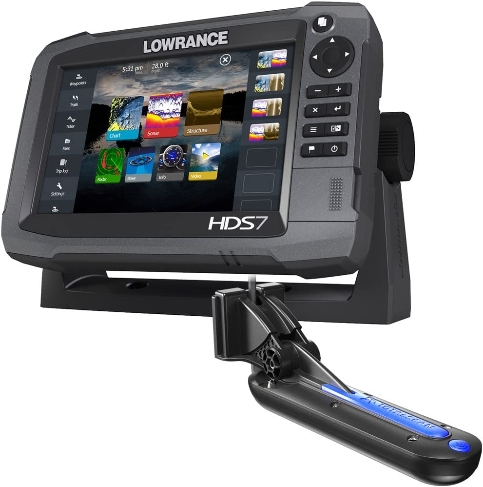 Lowrance HDS-7 Gen3 Insight w/TotalScan T/M Transducer: Amazon.es: Deportes y aire libre