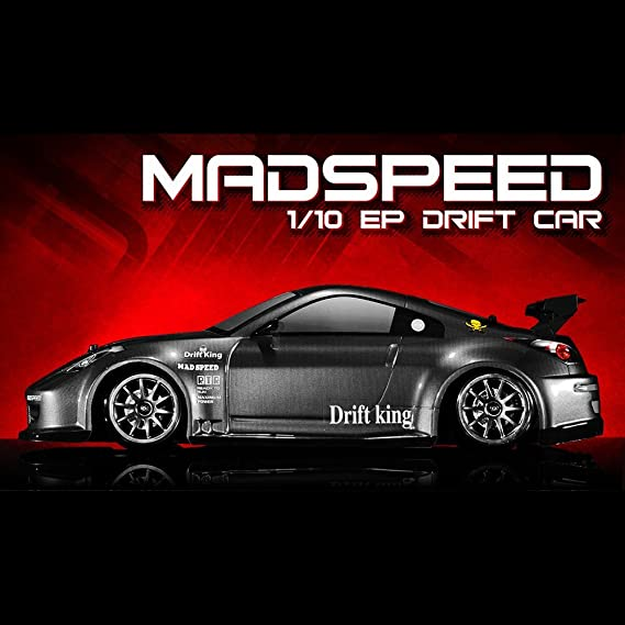 Exceed RC 2.4Ghz MadSpeed Drift King Edition 1/10 Electric Ready to Run Drift Car
