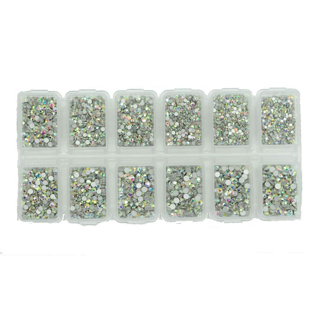 Crystal AB 5184pcs Mix SS3 4 5 6 8 10