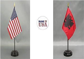 Georgia US State Small Hand Waving Flag