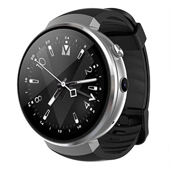 d7bea3a0e LEMFO. Lem 7 Smart Watch - Android 7.0 4G LTE 2MP Camera Watch Phone 16GB