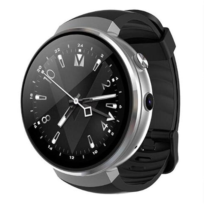 LEMFO LEM7 Reloj Inteligente - Android 7.0 4G LTE 2MP Reloj de cámara Teléfono 16 GB ROM Built-in Traductor Bluetooth/GPS/Monitor de Ritmo cardíaco Deportes ...