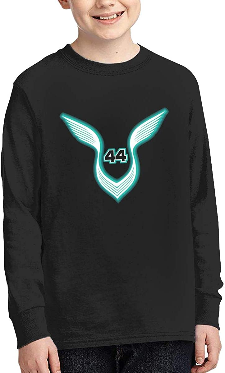 Optumus Racing Driver Lewis Hamilton 44 Kids Sweatshirts Long Sleeve T Shirt Boy Girl Children Teenagers Unisex Tee