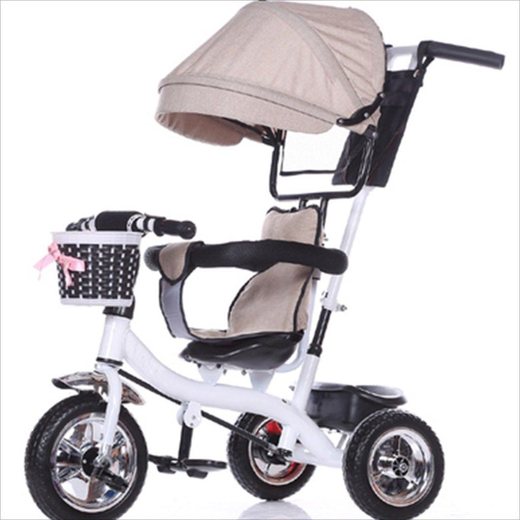 子供の屋内屋外の小さな三輪車自転車の男の子の自転車の自転車6ヶ月-6歳の赤ちゃん3つのホイールトロリー天井、固体プラスチックホイール (色 : 9) B07DVN1C9G 9 9