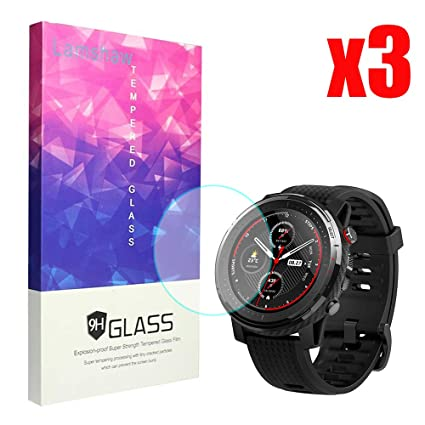 Amazon.com: Amazfit Stratos 3 Screen Protector, Blueshaw 9H ...