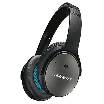 Bose QuietComfort 25 Alrededor de la Oreja cancelación de Ruido Auriculares iPhone · iPod · iPad con Correspondiente Mando a Distancia micrófono Negro ...