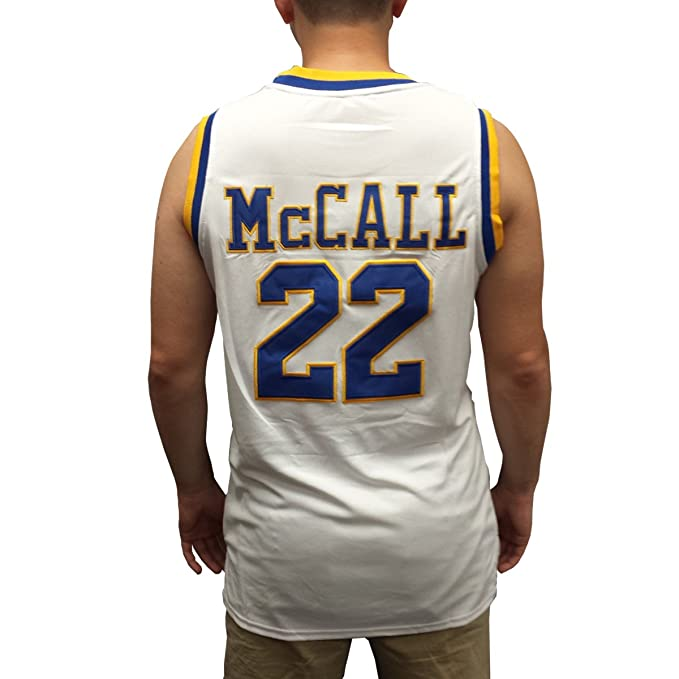 256003a07ec2 Quincy McCall  22 Crenshaw White Basketball Jersey Love and Basketball  Costume  Amazon.in  Clothing   Accessories