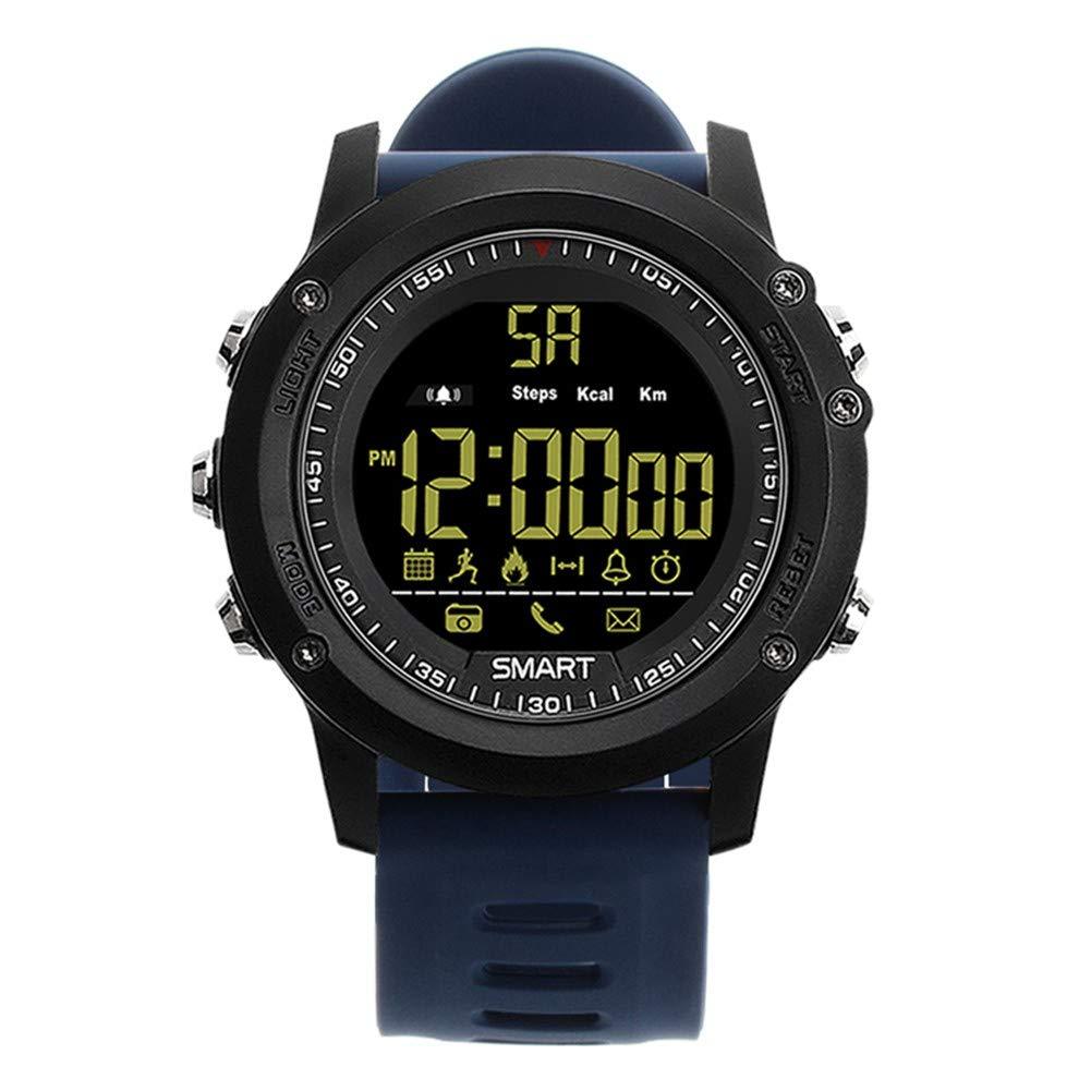 GBVFCDRT robuste Smartwatch 36-monatige Standby-Zeit 24H Allwetter-Überwachung Schrittzähler Kalorien Smart Sportuhr für Ios Android