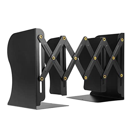 amazon com bookends book racks metal iron adjustable books holder rh amazon com file holder desktop file holder for desk drawer