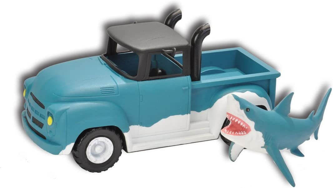 Wild Republic Shark Pick Up Truck, Gifts for Kids, Includes animal and vehicle, Eco-friendly packaging, Imaginative Play