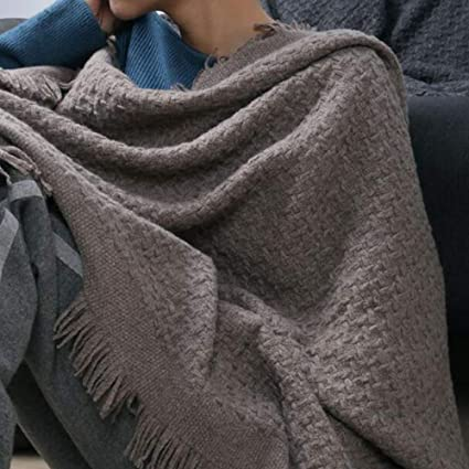 HWG-GAOYZ Bufanda Abrigos Mantón Bufandas Cachemir para Mujer Sarong Manta Calentador De Cuello Estola