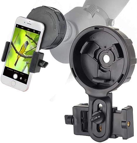 Gosky - Adaptador para prismáticos y miradores para captar belleza y compartirla con tus amigos, versión de alineación rápida para smartphone: Amazon.es: Electrónica