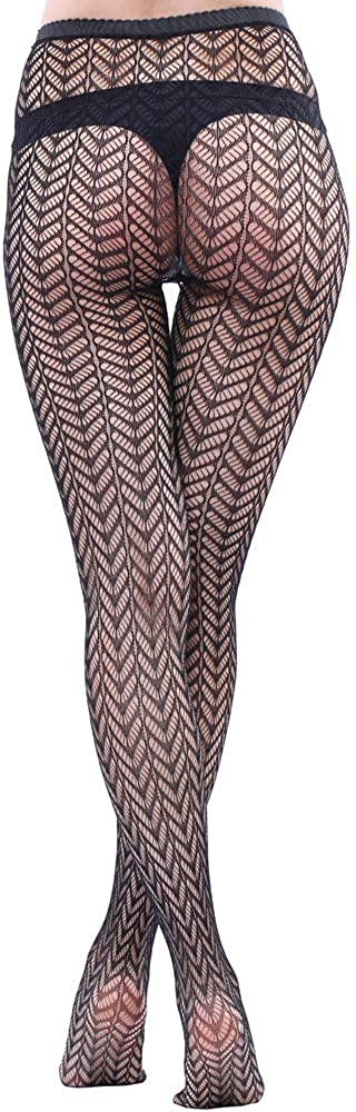 WEANMIX Lace Patterned Tights Fishnet Stockings Pattern Pantyhose