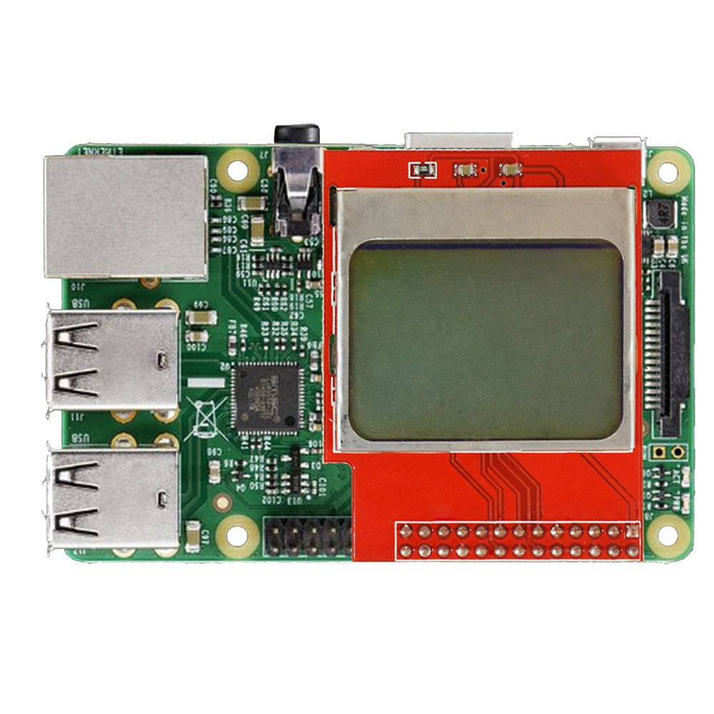 Buy Sunfounder Raspberry Pi Cpu Ram Display 5110 Mini Lcd Wiringpi Bcm2708 8448 Pcd8544 Shield For Model B Online At Low Prices In India Reviews Ratings