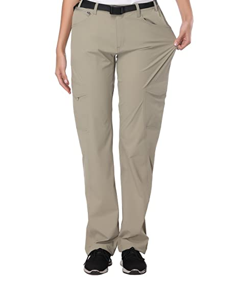 204516f5c87cc MIER Women's Tactical Pants Outdoor Water Resistant Utility Cargo Pants  with 6 Pockets, Quick Dry