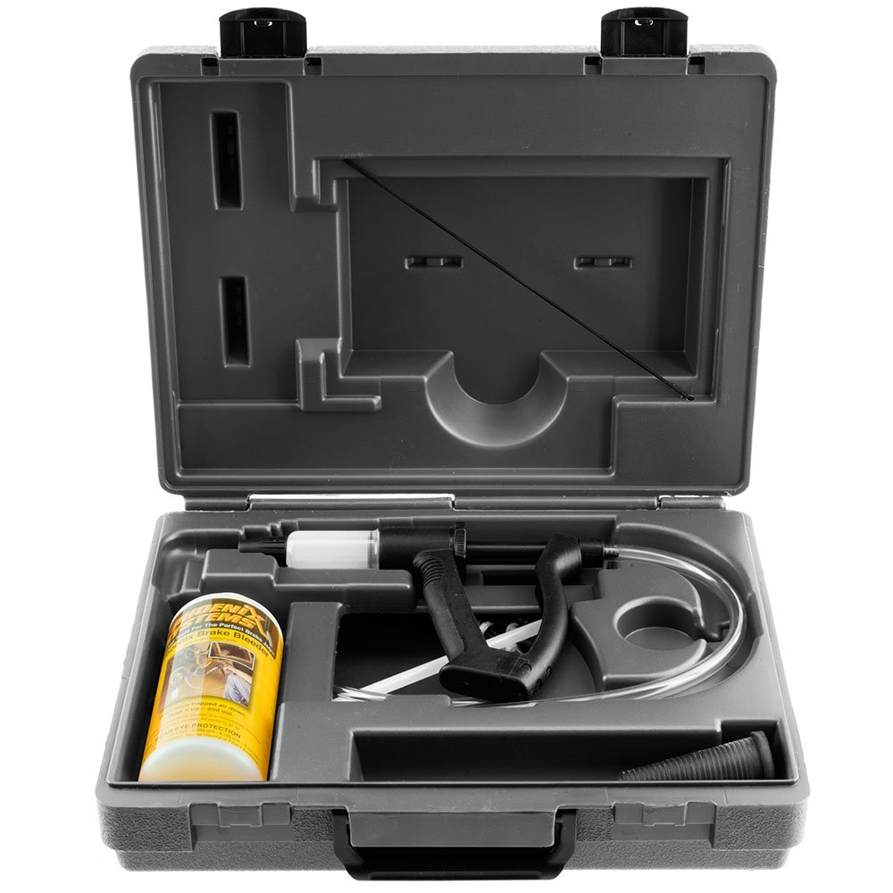 V-12 Reverse Brake /& Clutch Bleeder Kit Hard Case Medium Duty One Person Bleeder 2003-B Phoenix Systems