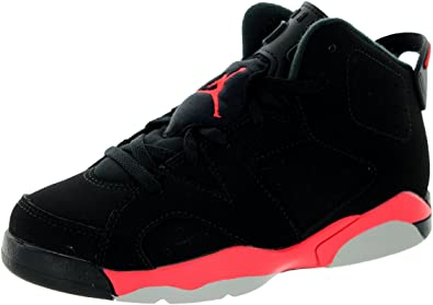 jordan retro 6 black and red