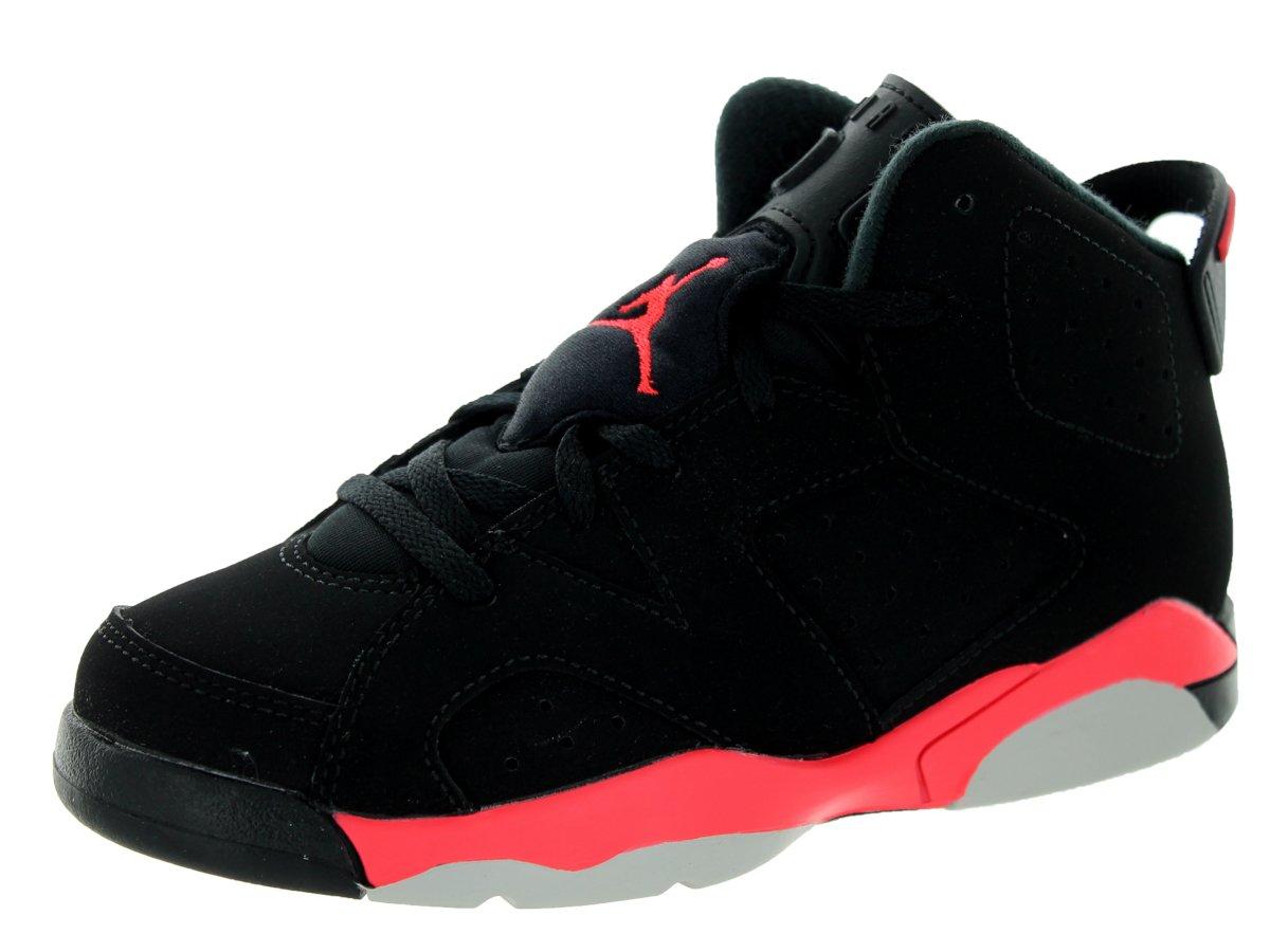 Nike Jordan Kids Jordan 6 Retro Bp Black/Infrared 23/Black Basketball Shoe 1.5 Kids US