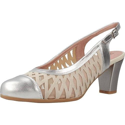 PITILLOS Zapatos Marca De Zapatos Plateado Color 5059V18 tacón Tacón PITILLOS Modelo de fIwq0x6v
