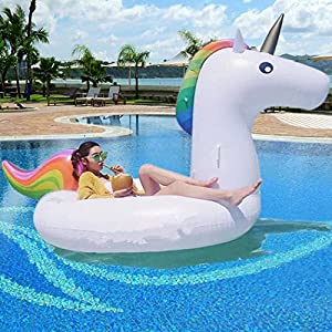 Pool Toy Unicorn Inflatable Giant Inflatable Unicorn Float Inflatable Toy Pool Raft Float Pvc