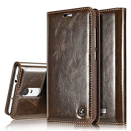 Excelsior Premium Leather Magnet Wallet Flip Cover Case for Xiaomi Redmi Note 4   Brown Mobile Phone Cases   Covers